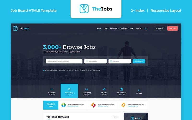 The Jobs - Job Board HTML Website Template