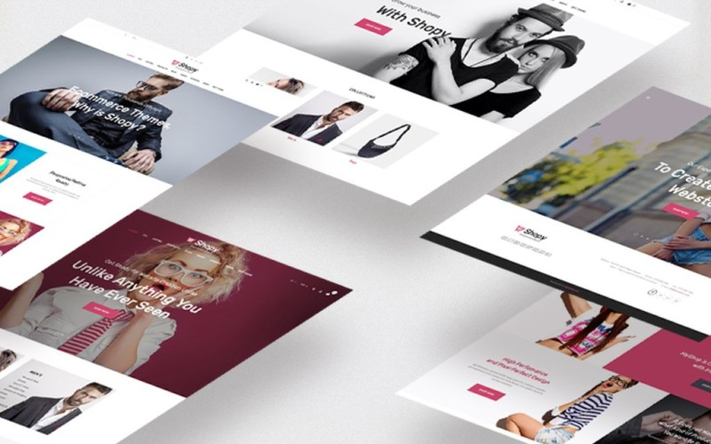 Shopy - fashion Magento Theme