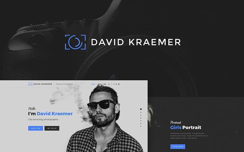 David Kraemar - Photographer WordPress Theme