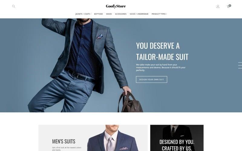 GloStore - AMP Mens Fashion Magento Theme