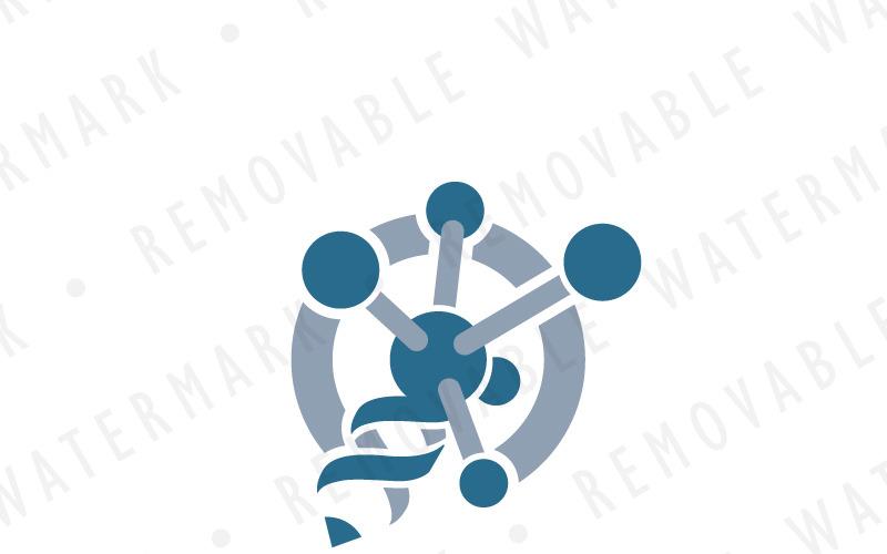 Шаблон логотипа науки карандаш
