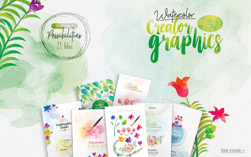 WaterColor Creator Graphics - Illustration