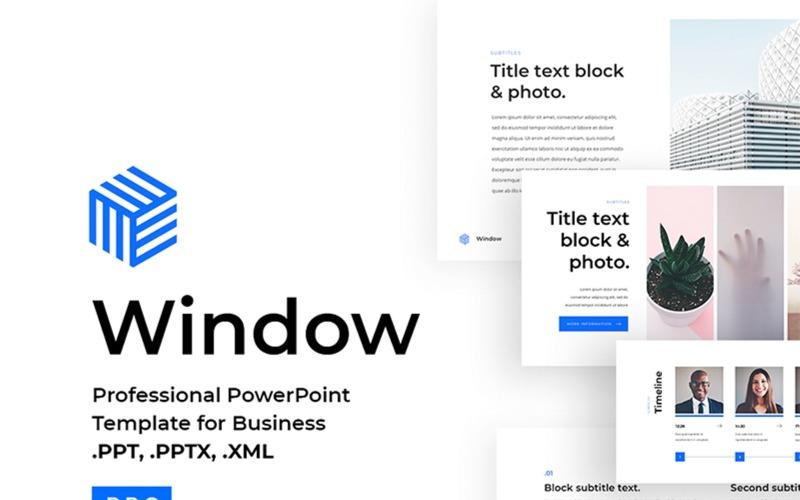Szablon PowerPoint Business 2018