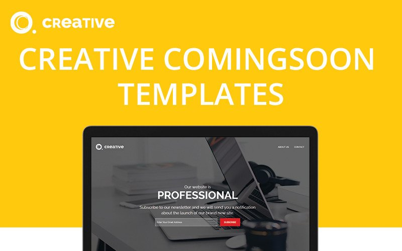 Creative Coming Soon Specialty Page