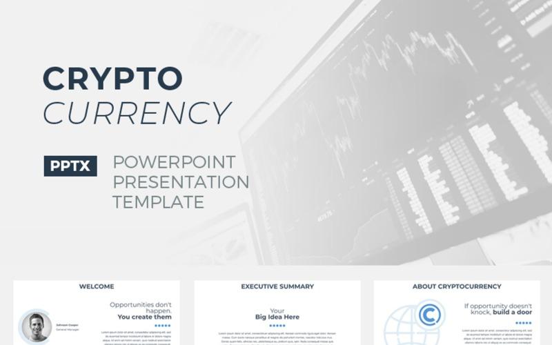 CryptoCurrency шаблон PowerPoint