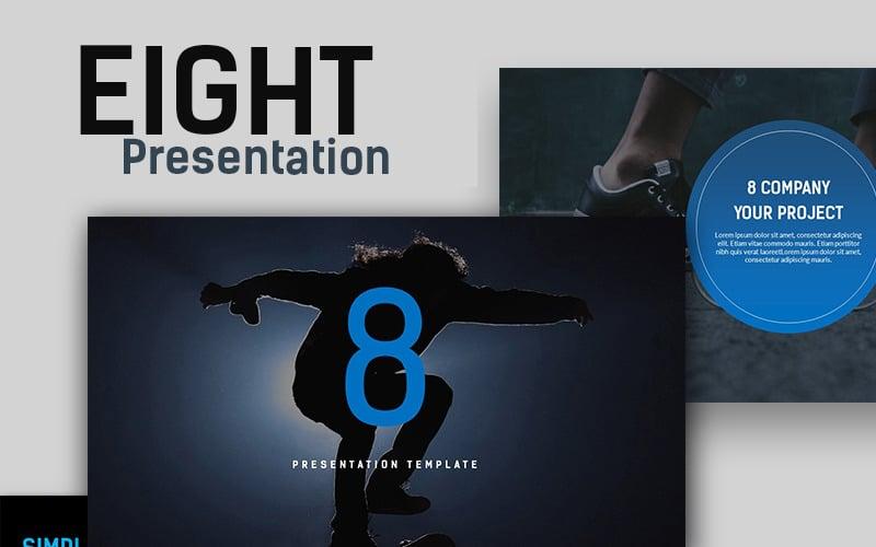 Eight Creative Presentation PowerPoint Template