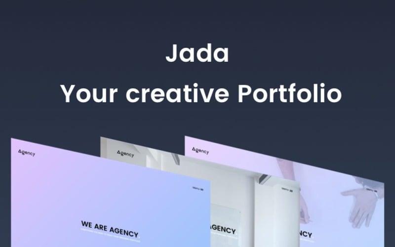 Jada - Creative Portfolio Website Template