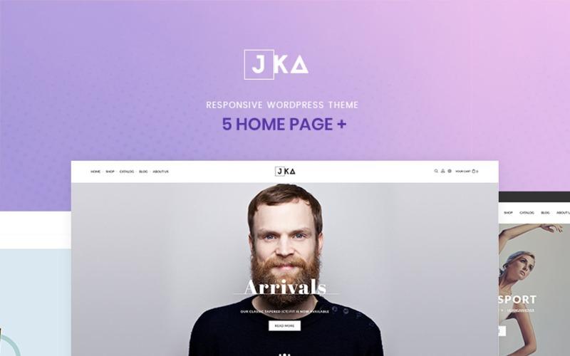 Jka Fashion WooCommerce Theme