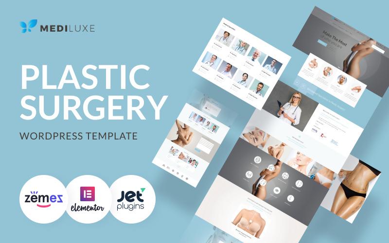 MediLuxe - motyw WordPress dotyczący chirurgii plastycznej