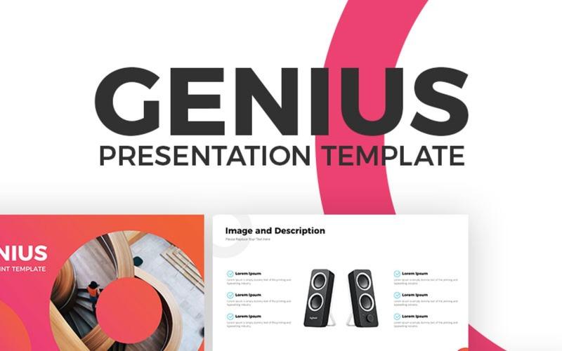 Genius - Szablon programu PowerPoint