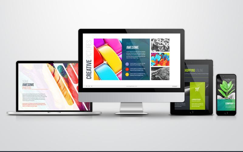 Infografika, biznesplan, plan finansowy, strategia marketingowa, media społecznościowe, infografiki, mapy krajów, oś czasu, szablon PowerPoint