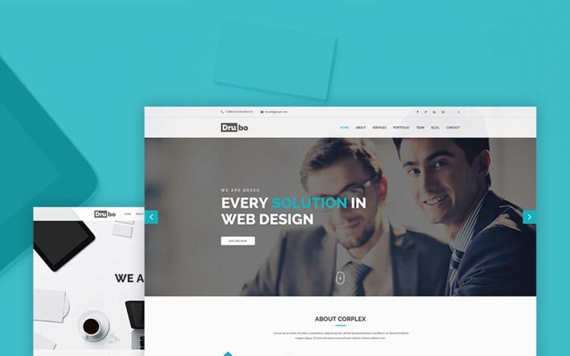 Drubo - корпоративная тема WordPress