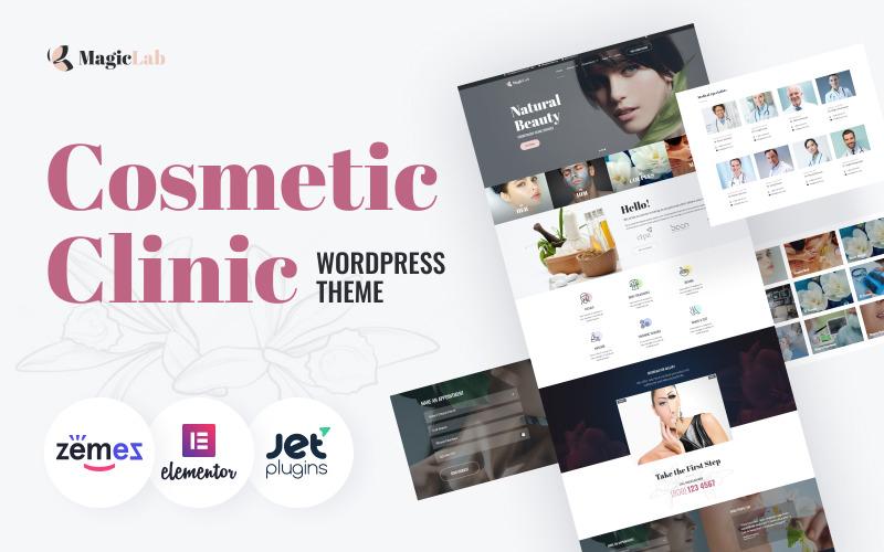 MagieLab - тема WordPress для косметической клиники