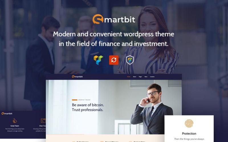 Smartbit - тема WordPress для бизнеса и финансов
