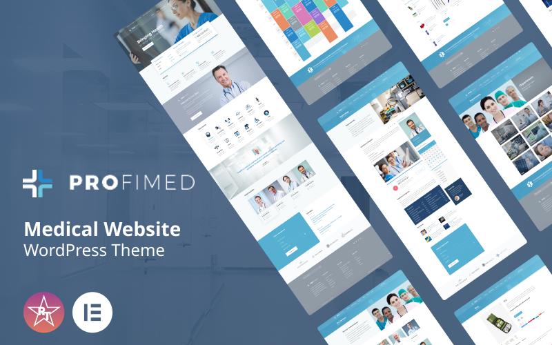 Profimed - Thème WordPress pour site Web médical