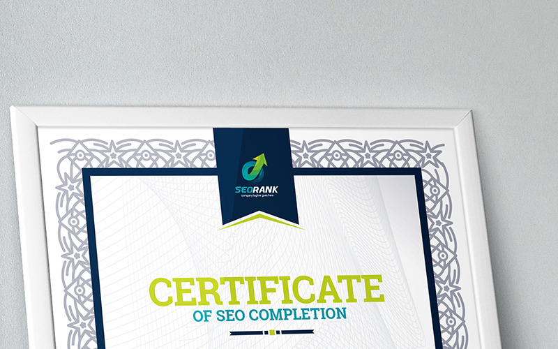 Completion - Certificate Template