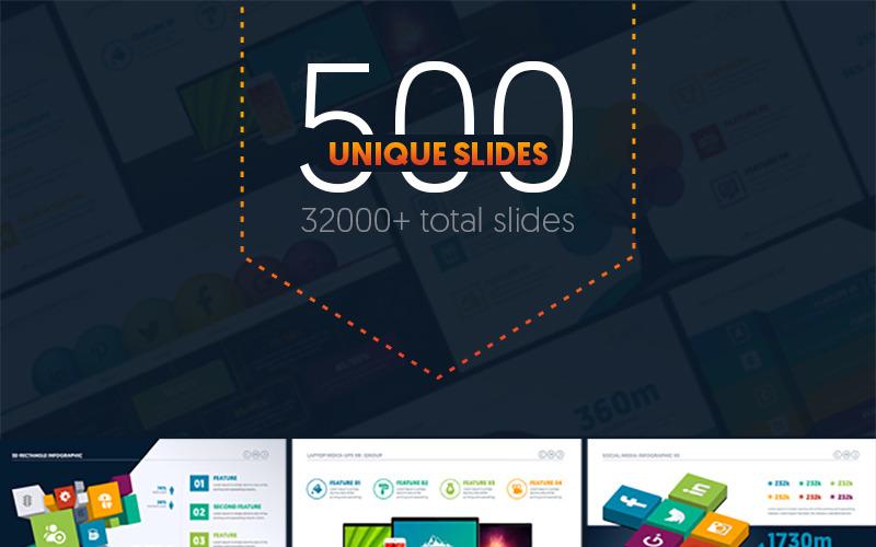 Mehrzweck-Business-Infografik-Präsentation - PowerPoint-Vorlage