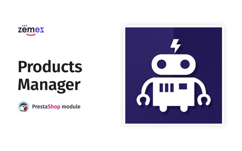 Products Manager PrestaShop module