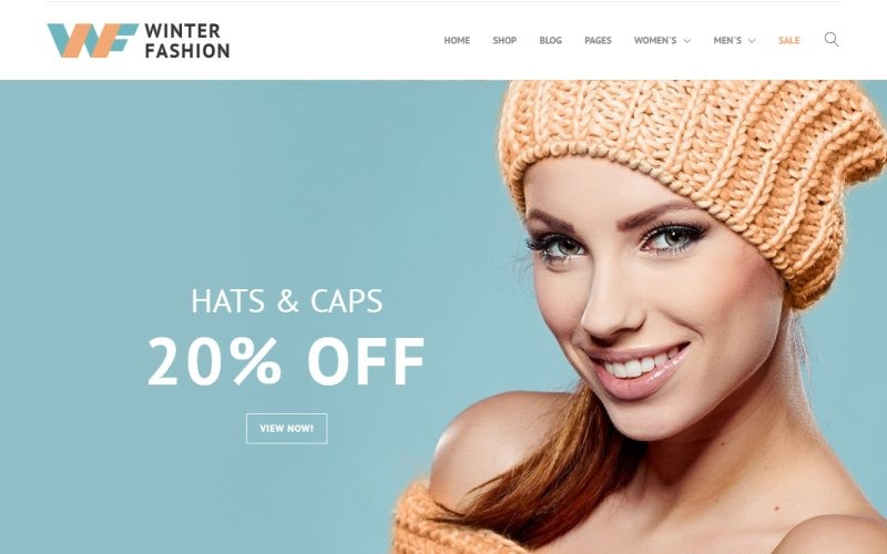 Winter Fashion - Fashionable Winter Wear PrestaShop Theme