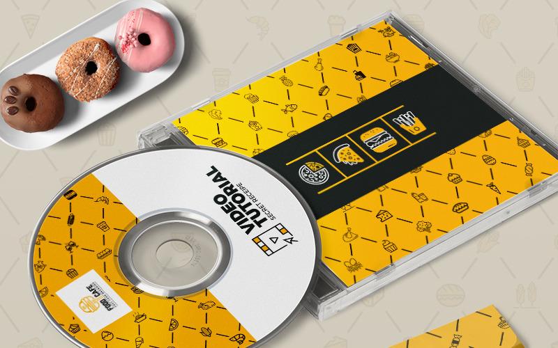 Дизайн обложки альбома CD / DVD - - Шаблон фирменного стиля