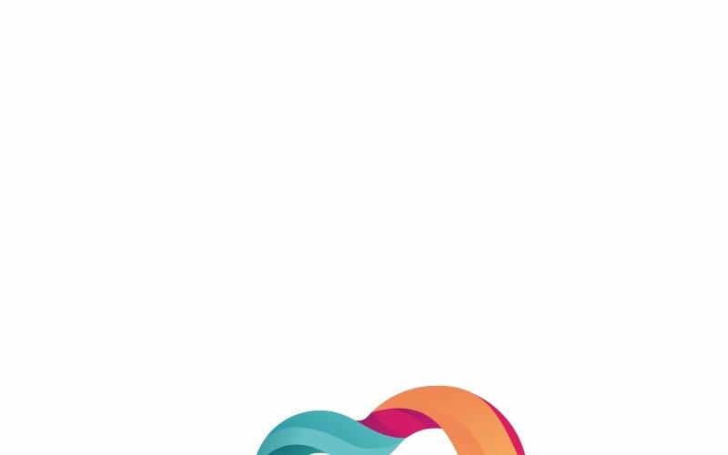 Evocon - шаблон логотипа Eco Infinity