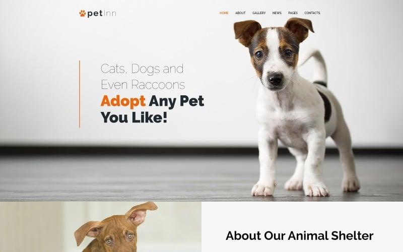 PetInn - Responsive Animals & Pets Charity WordPress Theme