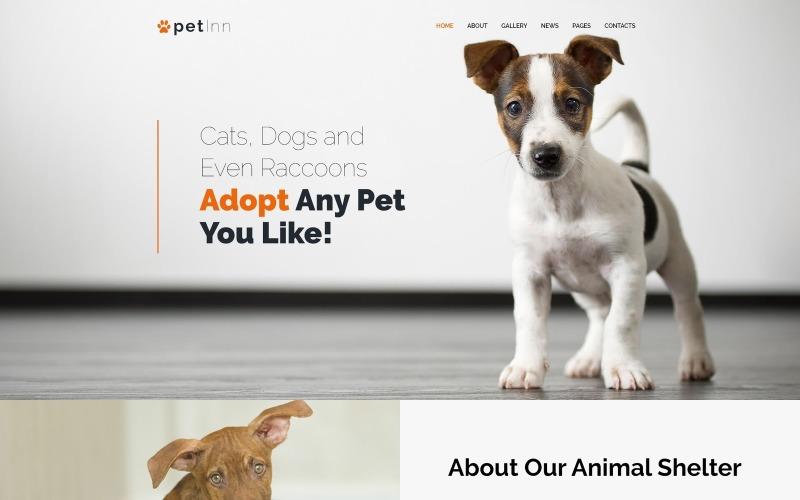 PetInn - Responsive Animals & Pets charytatywny motyw WordPress