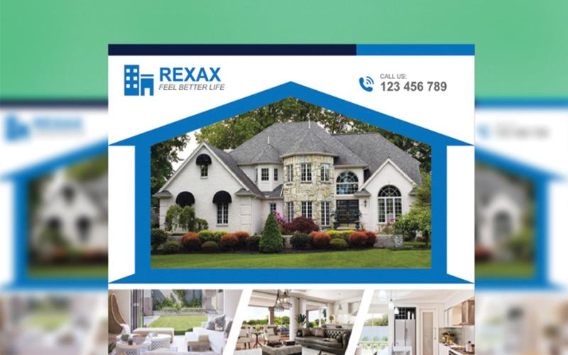 Rexax Real Estate - Шаблон фирменного стиля