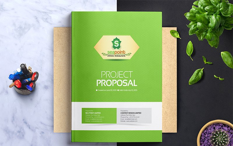 Project Proposal Design - Corporate Identity Template