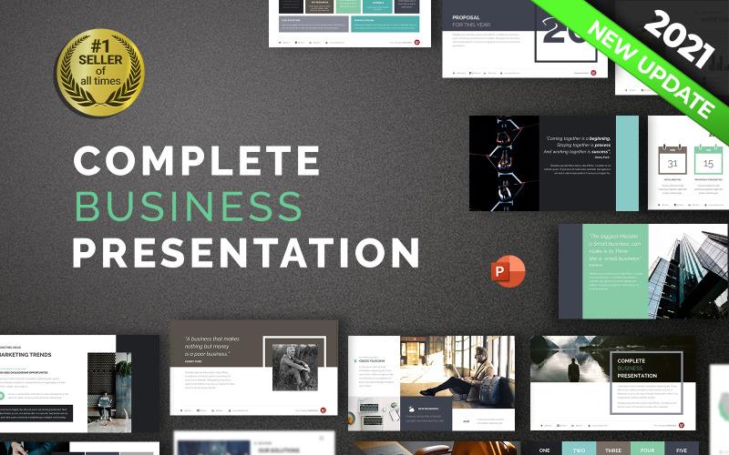 Vollständige Business Powerpoint-Präsentation