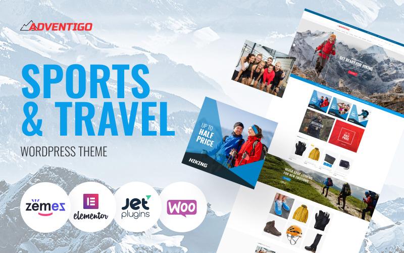 Adventigo - Sport és utazás WooCommerce téma