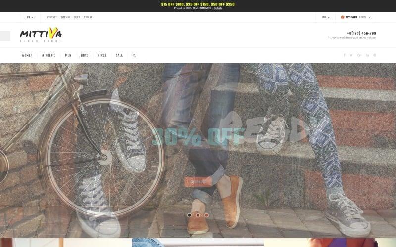 Mittiva - Shoes Store PrestaShop Theme