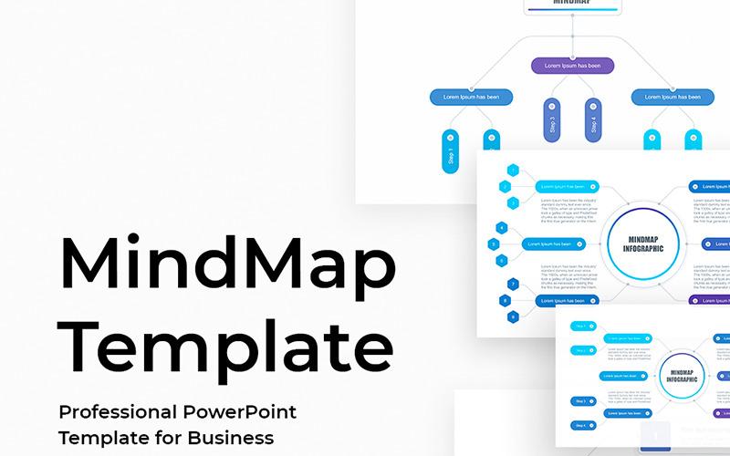 Mindmap - Szablon programu PowerPoint