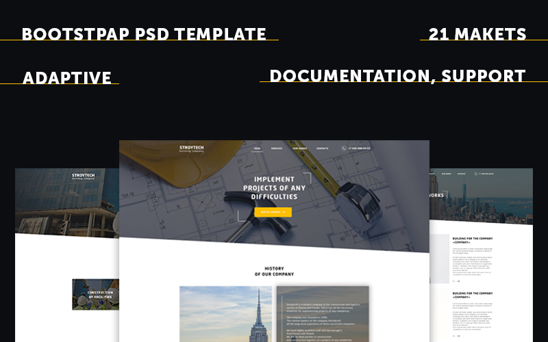 Building Responsive PSD Template