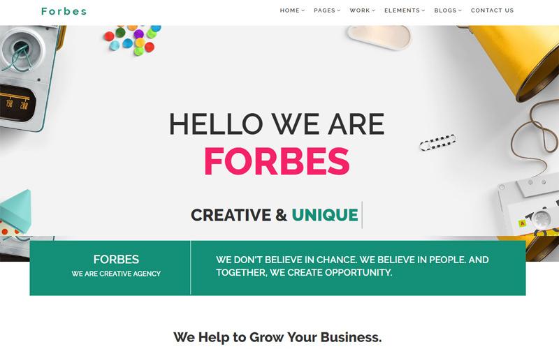 Forbes - Multipurpose HTML5