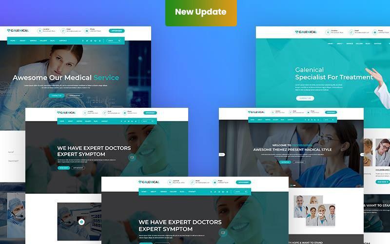 Galenical - Medical & Health Service WordPress Theme