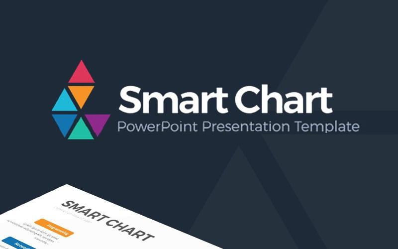 Inteligentny wykres - szablon Infografika PowerPoint