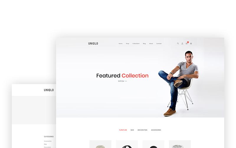 Uniqlo - Minimal Shopify Theme