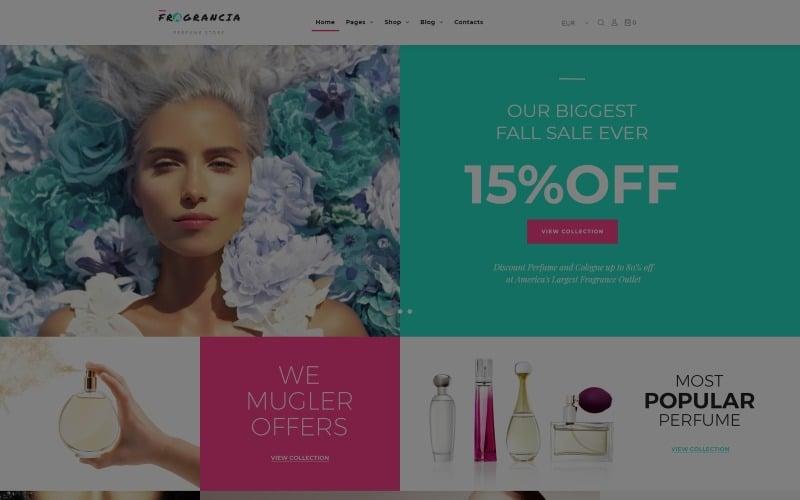 Fragrancia Perfume Store WooCommerce Theme