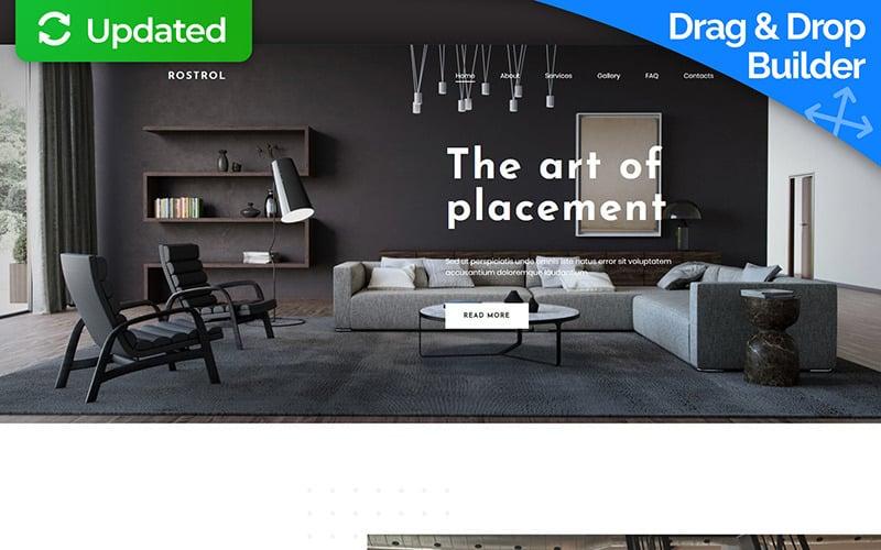 Home Decor Premium Moto CMS 3 Template
