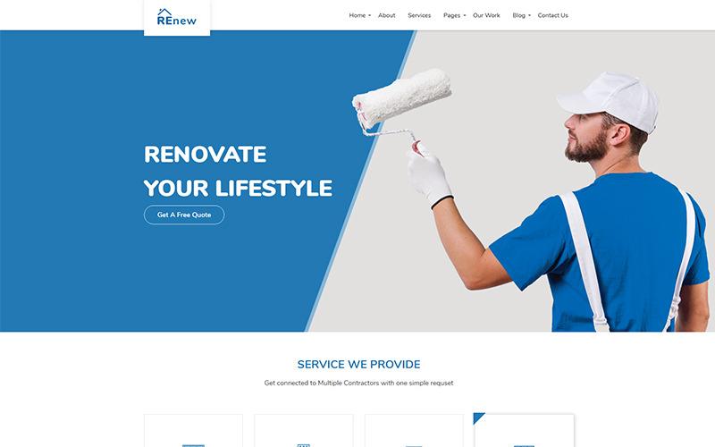Ligothemes - Renouveler le modèle de site Web polyvalent