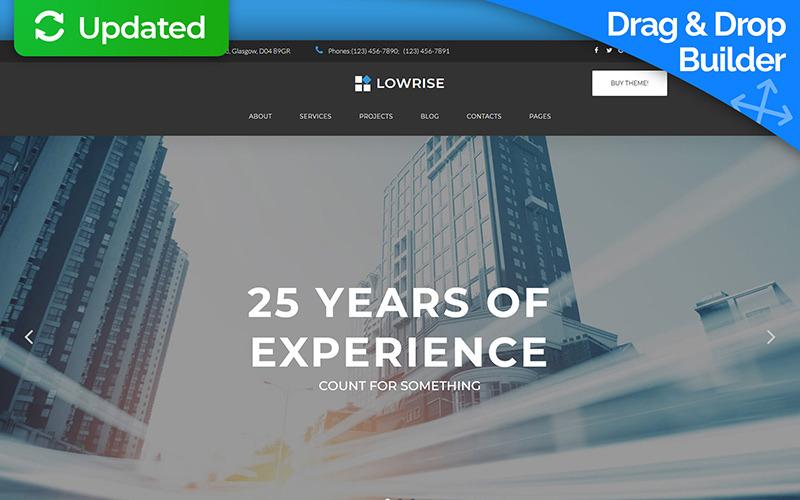 Lowrise - Architect Services Portfolio Moto CMS 3 Template