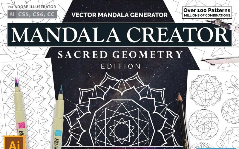 Sacred Geometry Mandala Creator Pattern