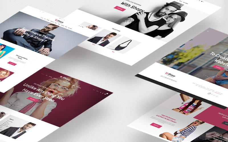 Тема Shopi Fashion Shopify