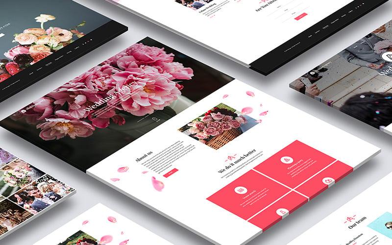 Honeymoon - Wedding Agency HTML Landing Page Template
