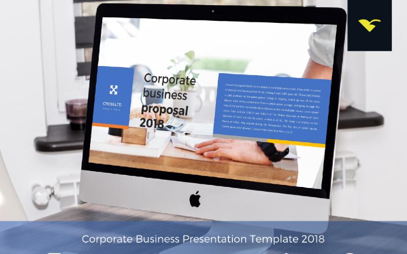 Korporacyjna propozycja biznesowa - szablon programu PowerPoint