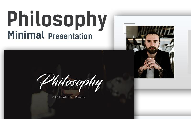 Filozofia - minimalny szablon programu PowerPoint
