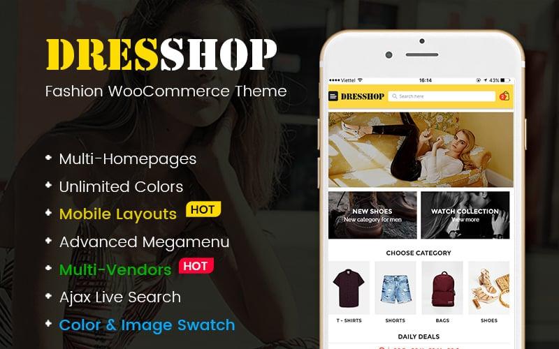DresShop - Clothing, Fashion Shop WooCommerce Theme (Mobile Layout Included)