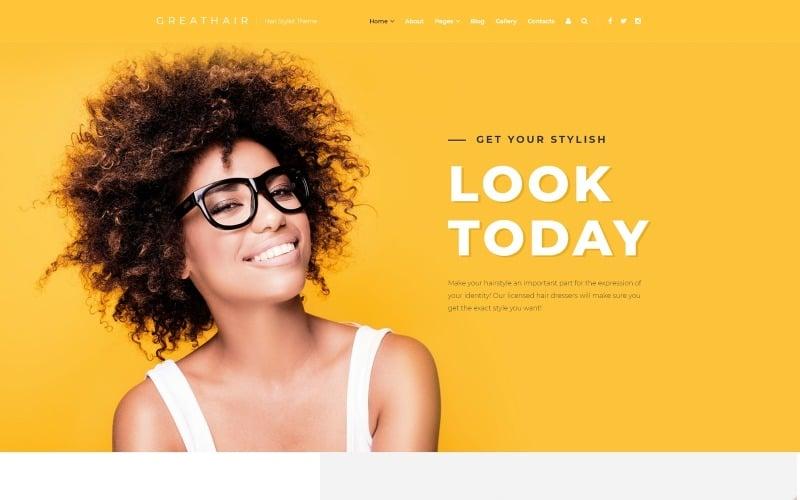 Greathair - Fancy Hair Stylist Joomla sablon