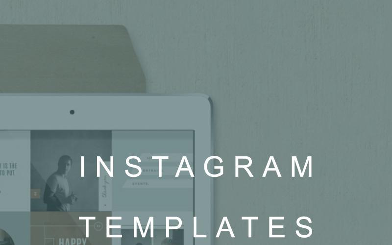 Modern Photographer Instagram Social Media Template
